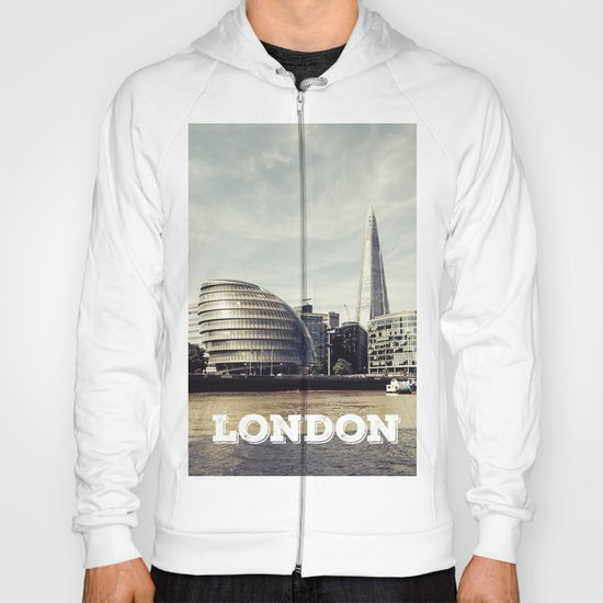 London city view Hoody