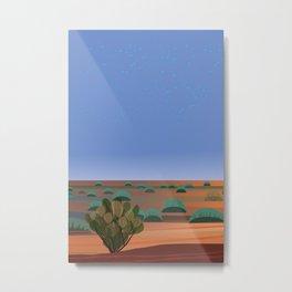 Twilight in the Desert Metal Print