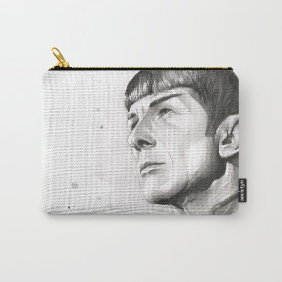 Star Trek Spock Portrait Carry-All Pouch