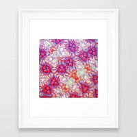dna Framed Art Prints featuring DNA by MonsterBrown