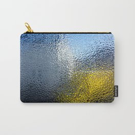 Condensation 03 - White House and Yellow Lorry Carry-All Pouch