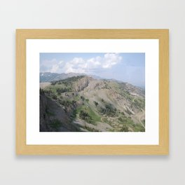Jackson Hole, Wyoming Framed Art Print