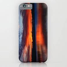 Sunset wings iPhone 6s Slim Case