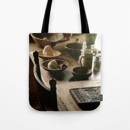 Lovely Wood Tote Bag