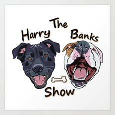 Harry Banks Show Art Print