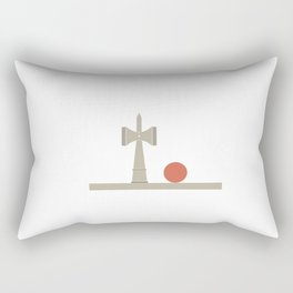Kendama / passion obsession 1.4 Rectangular Pillow