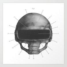 Anatomy of Daft Punk Art Print