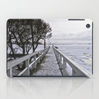 finland iPad Cases featuring Frozen Finland by Chema G. Baena Art