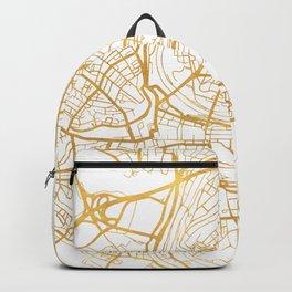 BERN SWITZERLAND CITY STREET MAP ART Backpack