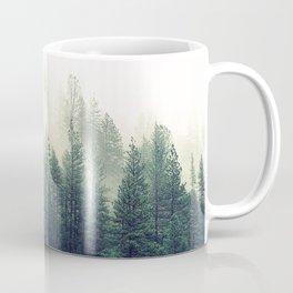 Foggy Winter Forest Coffee Mug