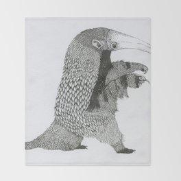 Aardvark Throw Blanket