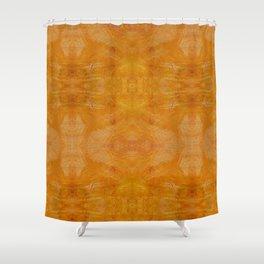 Aztec in tan Shower Curtain