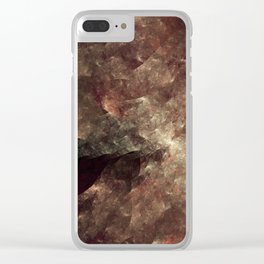 Topography I Clear iPhone Case