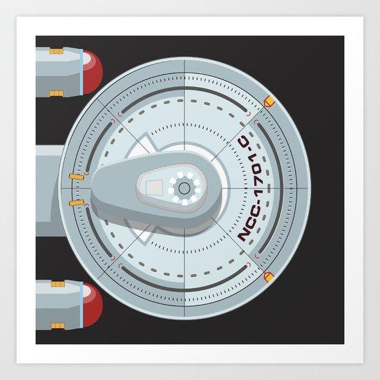 Enterprise - Star Trek Art Print