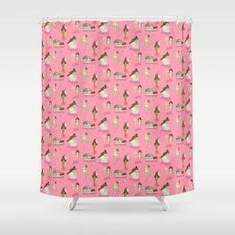 Venus of Ice Cream Shower Curtain
