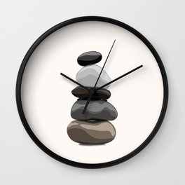 Take Cairn Wall Clock