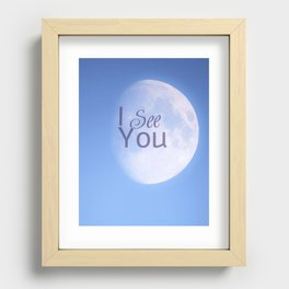 I See You Recessed Framed Print