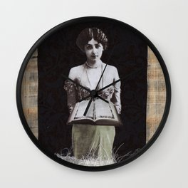The High Priestess #2 Wall Clock