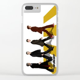 The Doctor who at abbey road iPhone 4 4s 5 5c 6 7, pillow case, mugs and tshirt Clear iPhone Case