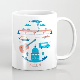 Love Letter to Austin, Texas Coffee Mug