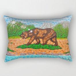 The California Republic Landscape Rectangular Pillow