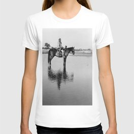 The Lone Chief, Cheyenne by Edward Curtis, 1927 T-shirt