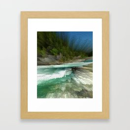 Abstract Landsape Framed Art Print