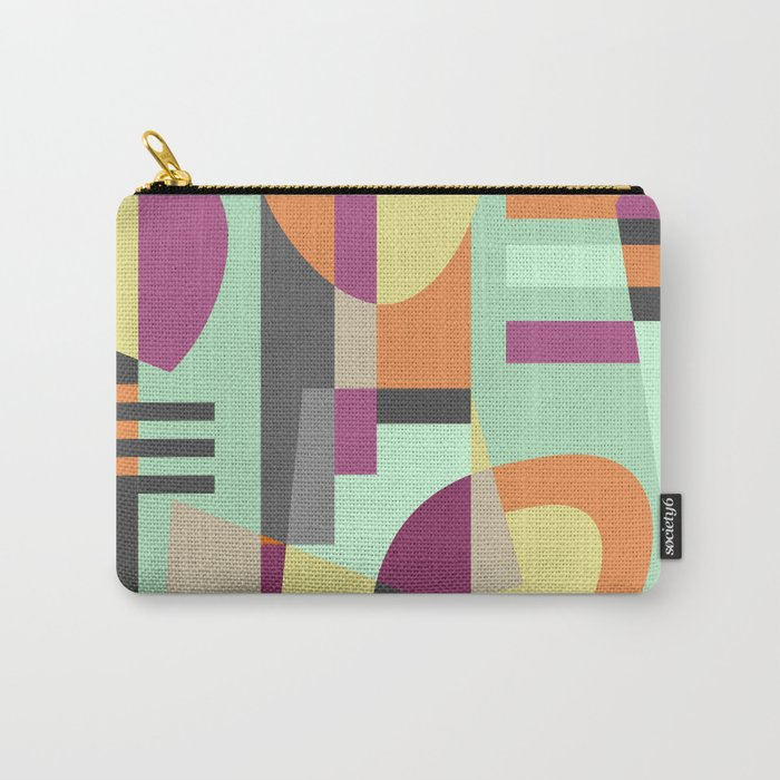 Geometric#11 Carry-All Pouch