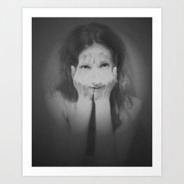 Hiding Art Print