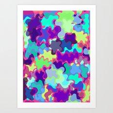 color blob Art Print