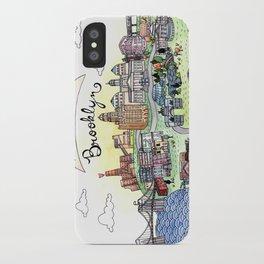 We Belong in Brooklyn iPhone Case