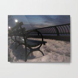 New York - Battery Park Metal Print