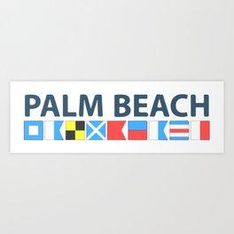 Palm Beach - Florida. Art Print