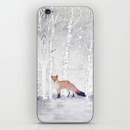FOX FOX FOX iPhone Skin