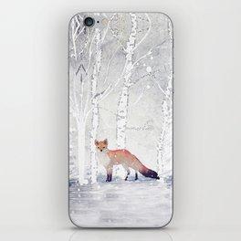 FOX FOX FOX iPhone Skin
