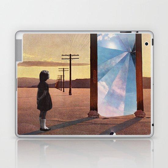 The broken window Laptop & iPad Skin