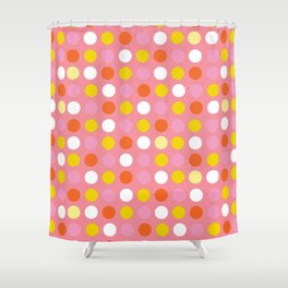 Retro Red - Style and Home Fashion Shower Curtain