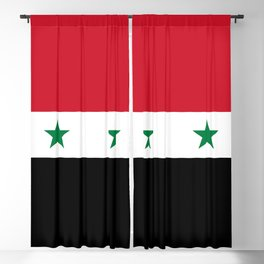 National flag of Syria Blackout Curtain