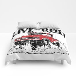 1956 FORD PICK-UP Workin' Hot Rod series Comforters