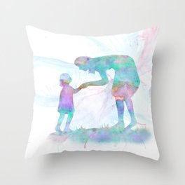 10839 Mom and Me Throw Pillow