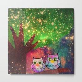 owl-143 Metal Print