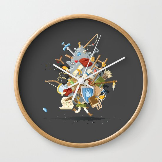 It's Dangerous to go alone, Take This. Wall Clock