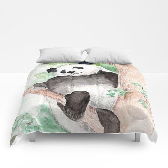 Panda, Hanging Out Comforters