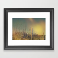 Summertime is Beach Time Framed Art Print