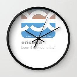 ese logo b2 Wall Clock