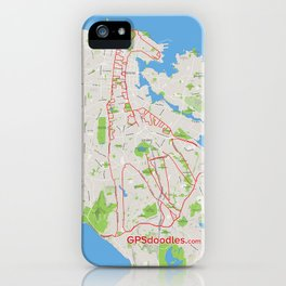It's a zoo out there iPhone Case