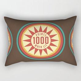 Pinball Points Rectangular Pillow