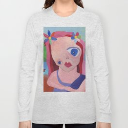 Mona Lisa Gets a Makeover Long Sleeve T-shirt