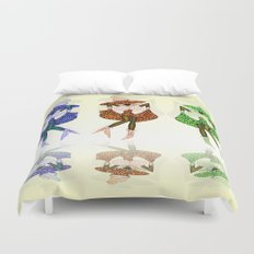 CAN CAN GIRLS Duvet Cover