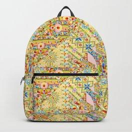 Sunshine Crazy Quilt (printed) Backpack